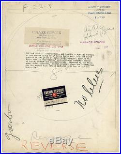 Mysterious Greta Garbo Large Vintage 1939 CS Bull Close Up Photograph Ninotchka