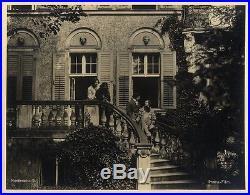 NOSFERATU (1922) Vtg orig dbl wt matte Prana photo #5 Hutter at Harding's home