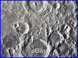 Nasa Apollo Rare Real Vintage B&w Photo F13 11x14 Consolidated Lunar Atlas