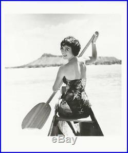 Natalie Wood In Hawaii 1956 Vintage 10 X 8