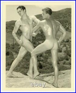Nude Beefcake Men 1940 Original Western Photography Guild Gay Physique Photo