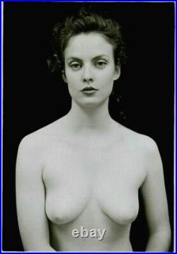 Nude Female Photo 5x7 Vintage Darkroom Print Signed Orig