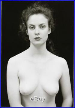 Nude Female Photo 5x7 Vintage Darkroom Print Signed Original 1992