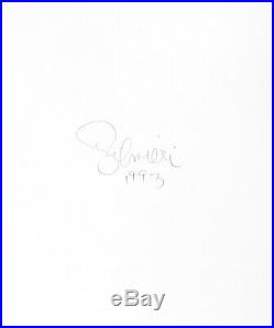 Nude Female Photo 8x10 B&w Gelatin Silver Dkrm Print Signed Orig