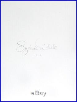 Nude Female Photo 8x10 B&w Lg Format Dkrm Print Sign Orig 1995