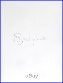 Nude Female Photo 8x10 B&w Vintage Darkroom Print 4x5 Plate Format Signed Orig