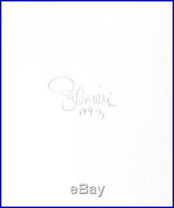 Nude Female Photo /8x10 B&w Vintage Dkrm Print / Signed Salmieri 1993