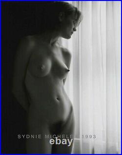 Nude Female Vintage Photo 8x10 B&w Gelatin Silver Dkrm Print Signed Orig