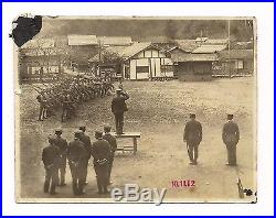 OLD VINTAGE JAPAN TAISHO PERIOD 1912 PHOTO of IMPERIAL JAPANESE ARMY CAMP