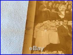 OLD VINTAGE PHOTO 1947 ETHICAL CULTURE Testimonial Dinner On HENRY HUDSON HOTEL