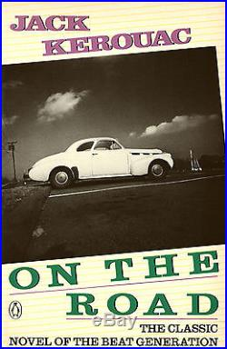 ON THE ROAD' COVER PHOTO/ 8X10 B&W VINTAGE GELATIN SILVER PRINT/ SIGNED / 1974
