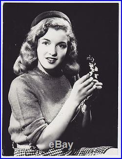 ORIGINAL Marilyn Monroe photo STAMPED Bruno Bernard Vintage Norma Jeane iconic
