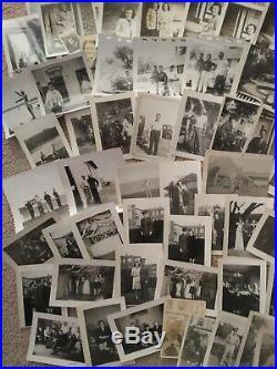 ORIGINAL VINTAGE PHOTOS & NEGATIVES LOT 8+ LBS Military Men Women Girls 40s WW2