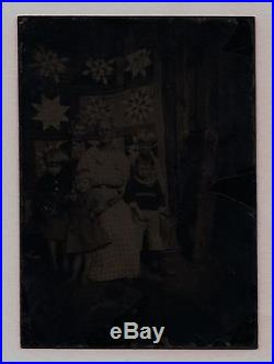 Old Vintage Photo Grandma Moses Anna Mary Robertson Moses Kids & Folk Art Quilt