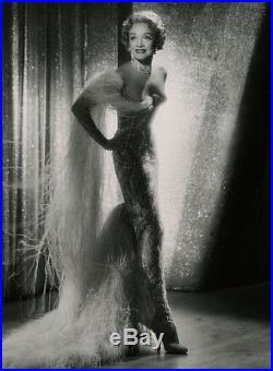 Opulent Vamp Fine Art Marlene Dietrich Photograph Vintage John Engstead 1955