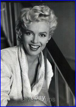 Orig 1955 MARILYN MONROE Candid THE SEVEN YEAR ITCH Portrait by BOB HENRIQUES