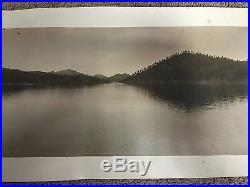 Original Panoramic Vintage Black & White Photo Of Colorado Mile High Photo Co. #9