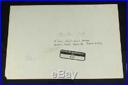 Original Vintage Fritz Henle Gelatin Silver Photo Print Signed St. Croix Skyline