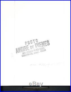 Original vintage Andre de Dienes 10 x 10.25 in. Gelatin silver print