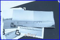 PACKED Vintage photo album 1920s-50s 215 pics san francisco california cars ATQ