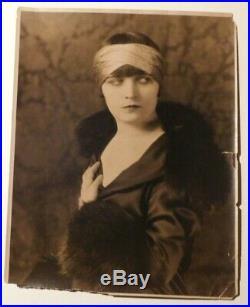 POLA NEGRI Vintage 1920s Silent Film Star Portrait 11x14 ORIGINAL MOVIE PHOTO