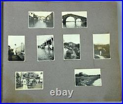 Photo Album China Chinese Shanghai View Building Denmark European 1907-1915