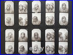 Photo Album Full of 533 VTG Antique Photographs B&W Sexy Gay Interest Hollywood