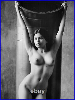 Photograph by Pavel Apletin, silver gelatin signed limited female fine art