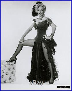 Pin-Up Bombshell Marilyn Monroe Vintage River of No Return Saloon Singer Photo