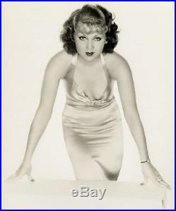Pre Code Vamp Grace Bradley Vintage 1930s Art Deco Pin-Up Glamour Photograph