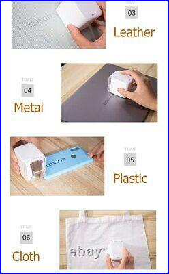 Princube Creative Portable Mobile Paperless Multi-surface Printer tattoo photo l