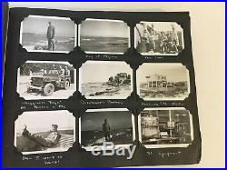 Rare 1940's WWII Photo Album OSS Radio Operations Africa Europe WW2 Vintage OSS