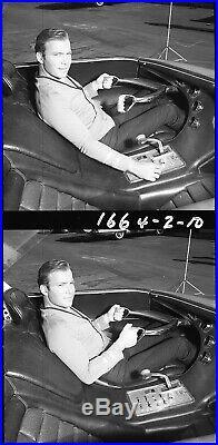 Rare 4 Star Trek William Shatner 1967 Vintage 120 MM Negative Transparencies