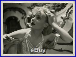 Rare Carole Lombard Vintage 1935 William A. Fraker Art Deco Glamour Photograph