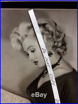 Rare Dated 12/15/1952 Marilyn Monroe One Of A Kind Vintage Photo #marilyn4