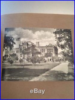 Rare GALVESTON TEXAS TX Old-Vintage Early 1900's PHOTO SEA WALL City Book PHOTOS