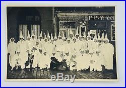 Rare K. K. K. Vintage Klan Photo 6.5 X 4.5 Black and White Original