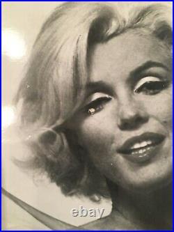 Rare Orig Vtg 50's MARILYN MONROE nude frontal 8X10 Glossy Black & White Photo