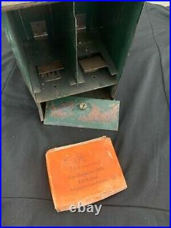 Rare Vintage Antique Metal Picture Viewing Machine + Stereoscope Viewer + Photos