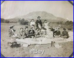 Rare Vintage Photo Album History Prescott Arizona Stagecoach Trains Pioneers ++