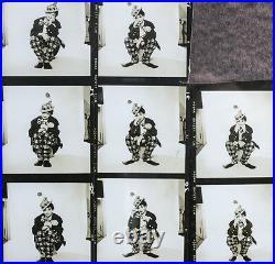 Richard Avedon 1923 2004 Photograph Judy Garland as Clown Contact Sheet 1950s