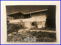 Richard Neutra V. D. L. Research House Vintage Photograph c 1932 33 RARE Luckhaus