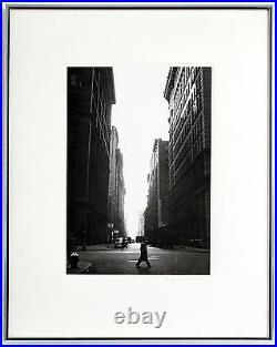 Rudy Burckhardt Six O' Clock, 1947. Signed, Black & White Photograph