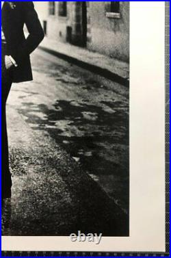 Rue Aubriot, Parisian Street 1975 16x20 Vintage Silver Gelatin by Helmut Newto