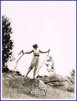 Ruth St Denis Vintage Photo Nickolas Muray Photographer Modern Dance Dancer