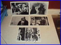 STAR WARS VINTAGE 1977 ORIGINAL PRESS KIT 8x10 BLACK & WHITE PHOTOS SET OF 11