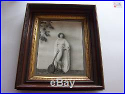 STUNNING VINTAGE ORIGINAL ALFRED CHENEY JOHNSTON 11 x 14 CLARA BOW NUDE