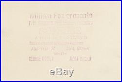SUNRISE (1927) Vntg orig 8x10 still ft. George O'Brien, Janet Gaynor on location