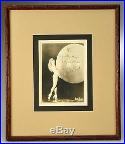 Sally Rand Rare Early Vintage Signed Portrait Burlesque Photo Maurice Seymour