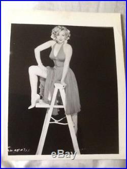 Scarce! 1950's Marilyn Monroe VINTAGE ORIGINAL 8x10 Photo